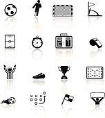 Soccer, football icons
