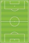 Soccer Football Pitch Horizontal Stripe