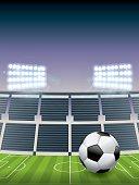 Soccer Football Stadium and Field