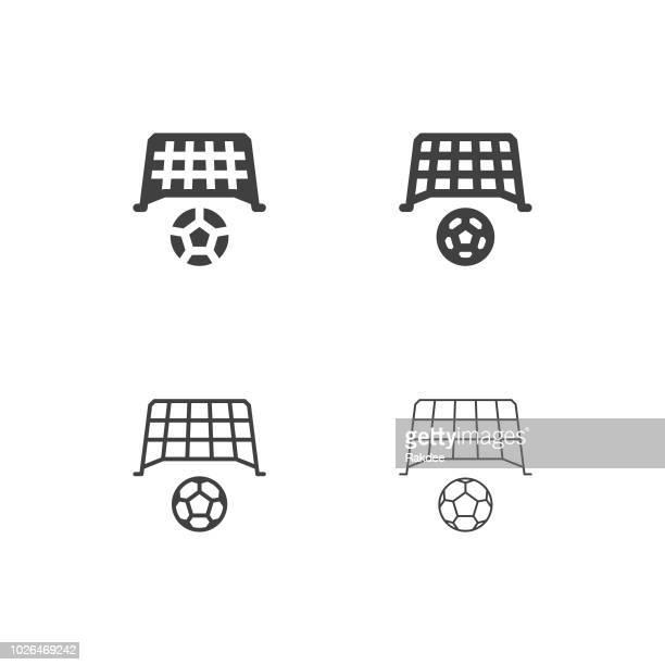 Soccer Goal Icons - Multi Series