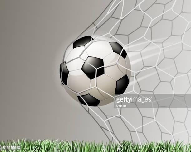 soccer goal illustrations