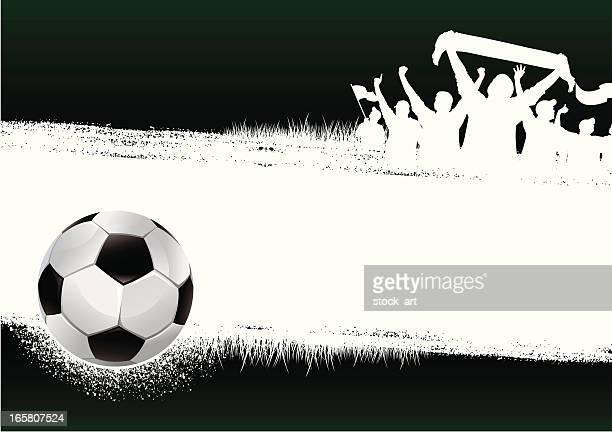 soccer green background