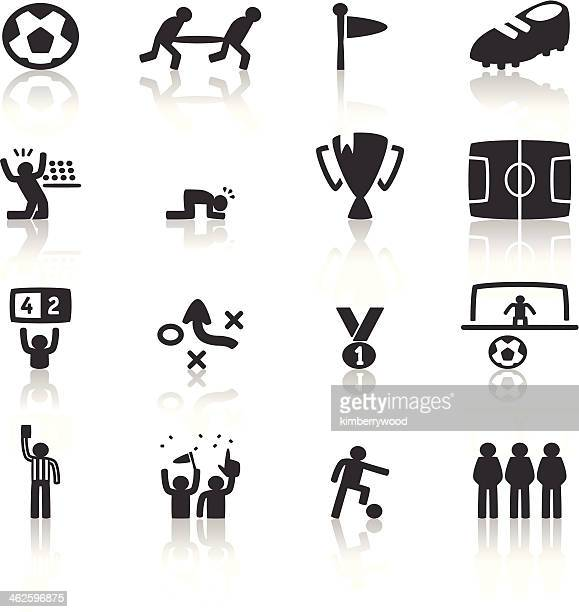 soccer icon - conversion sport stock illustrations