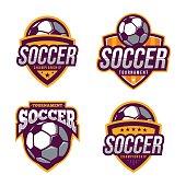 Soccer Logo Badge