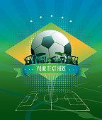 soccer match background