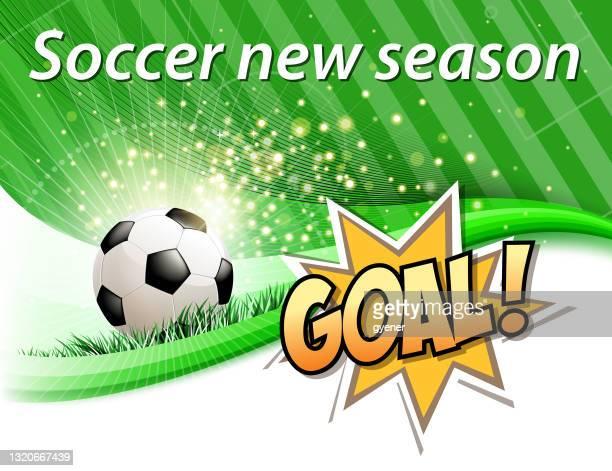 soccer new season - soccer competition stock illustrations