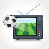 Soccer on the tv