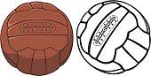 soccer or football ball