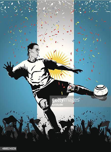 Fußball Spieler Argentinien