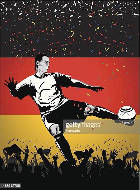 Fußball-Spieler, Deutschland