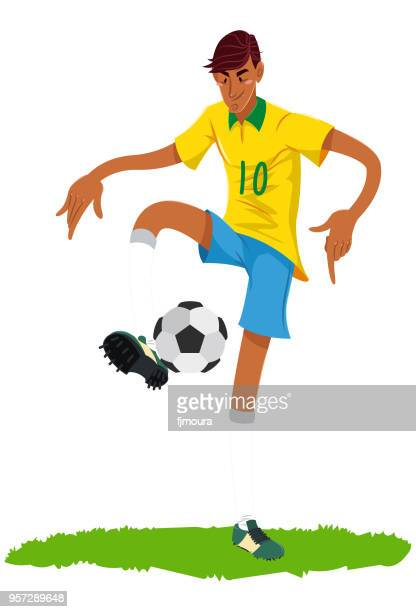 ilustrações, clipart, desenhos animados e ícones de jogador de futebol sem estadio - sporting term