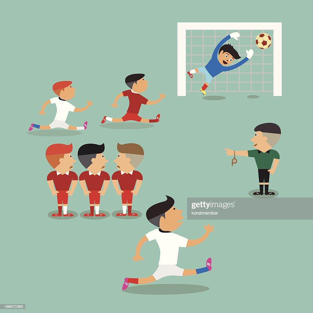 Soccer Player Shoot