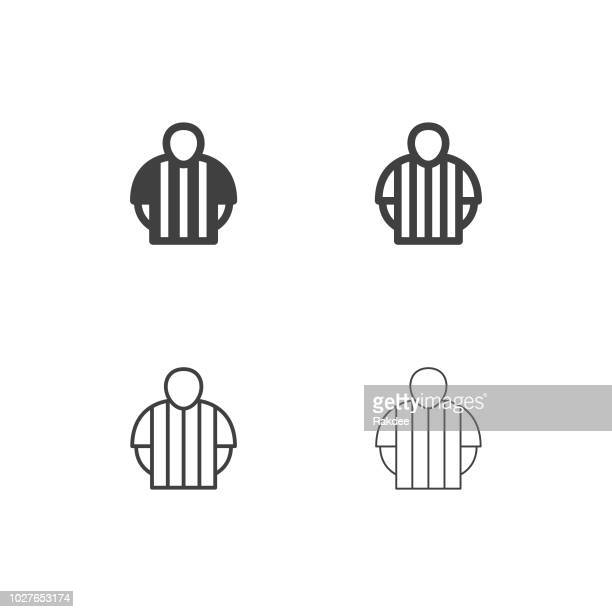 Soccer Referee Icons - Multi Series