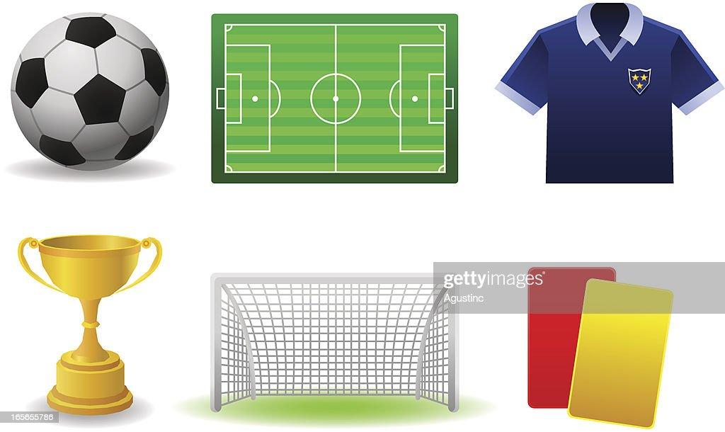 Soccer Set : stock illustration