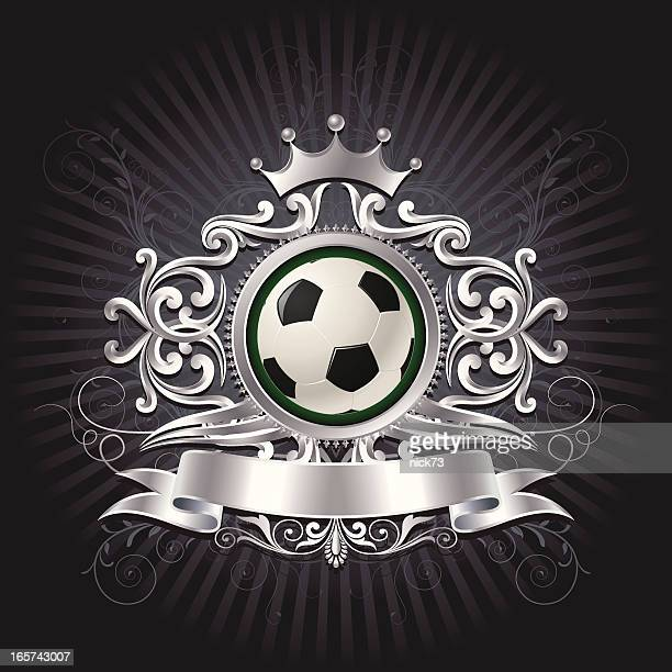 Fußball-shield Hintergrund