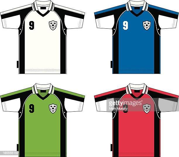 Fußball-T-Shirt mit Logo