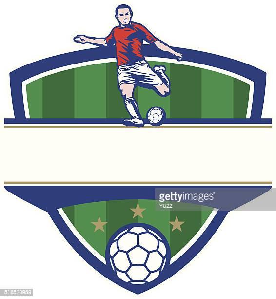 サッカー撮影クレスト
