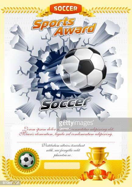 soccer sports award - dueling stock illustrations, clip art, cartoons, & icons