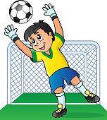 Soccer theme image 3