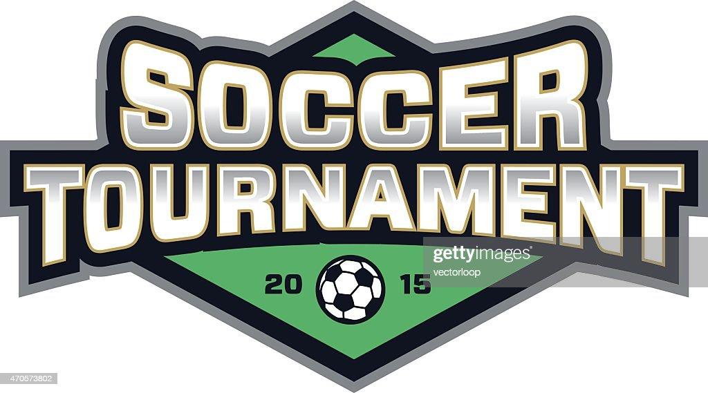 Soccer Tournament Logo : stock illustration