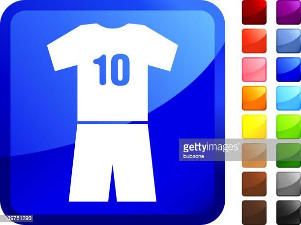 soccer uniform internet Lizenzfreie Vektorgrafiken