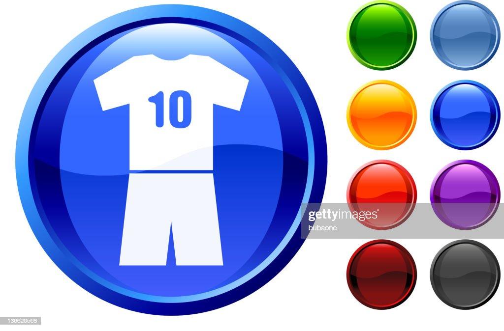 soccer uniform royalty free vector art