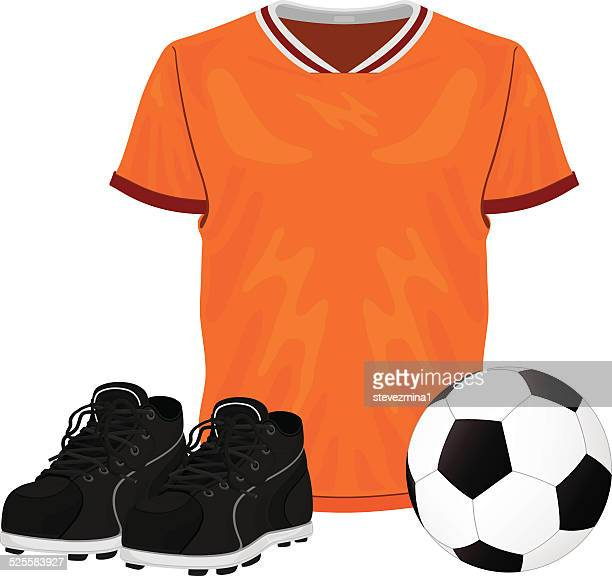 soccer uniform - soccer uniform stock illustrations