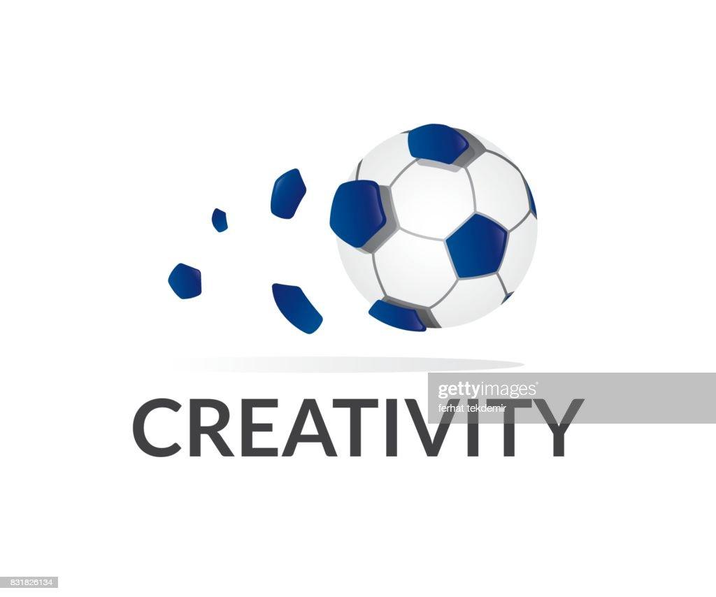 Soccer vector icon
