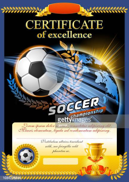 soccer - tournament of champions stock illustrations, clip art, cartoons, & icons
