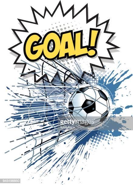ilustraciones, imágenes clip art, dibujos animados e iconos de stock de ganador del fútbol - marcar términos deportivos