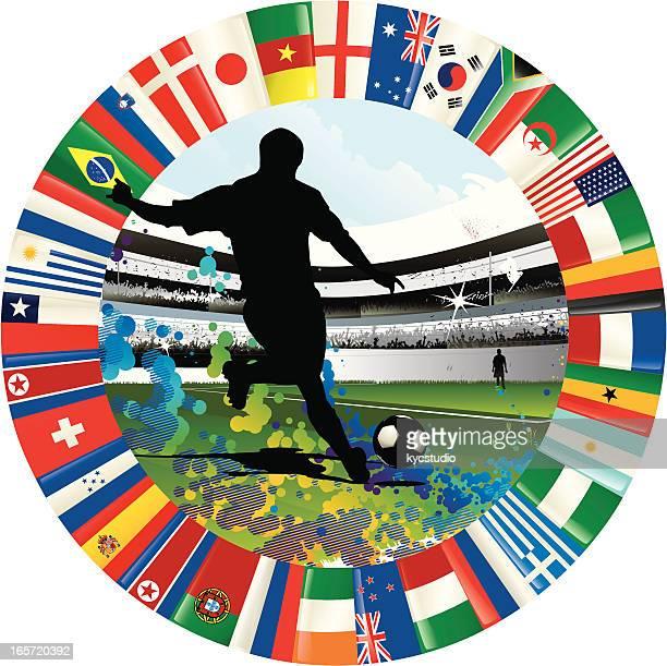 Copa mundial de fútbol emblema