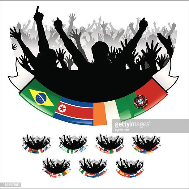Soccer World Cup Group Emblems