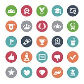 Social Achievement Icons - Bijou Series