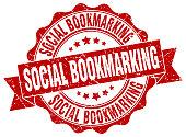 social bookmarking stamp. sign. seal