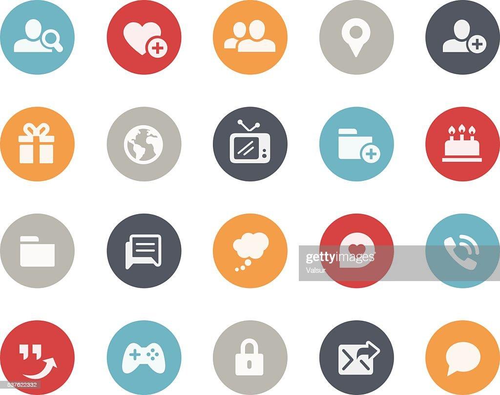 Social Communications Icons // Classics