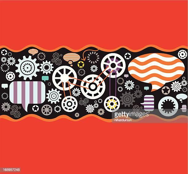 social community - sociology stock illustrations, clip art, cartoons, & icons