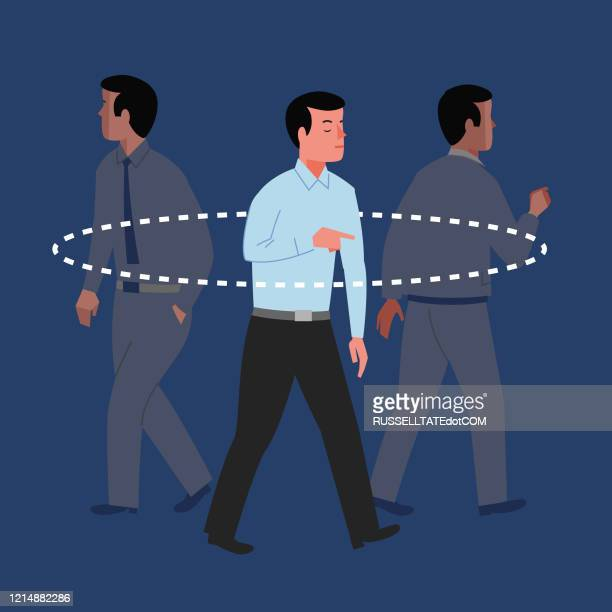 social distancing - avoidance stock illustrations