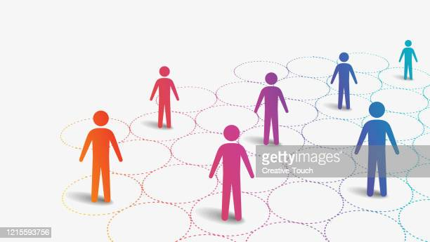 social distancing - social issues stock illustrations