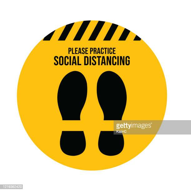 social distancing. wuhan coronavirus outbreak influenza as dangerous flu strain cases as a pandemic concept banner flat style illustration stock illustration - social distancing stock illustrations