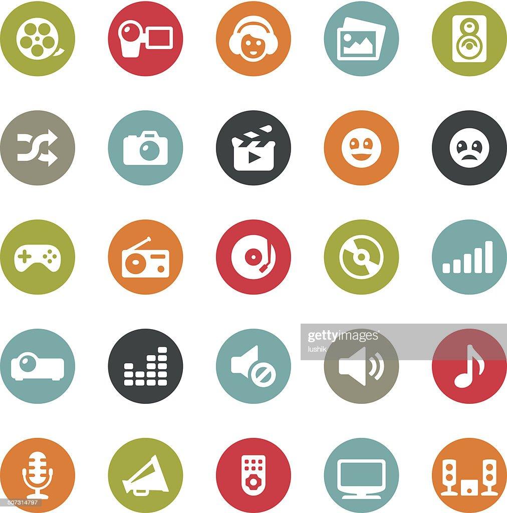 Social Entertainment icons / Ringico series