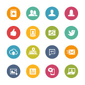 Social Icon Set // Fresh Colors Series
