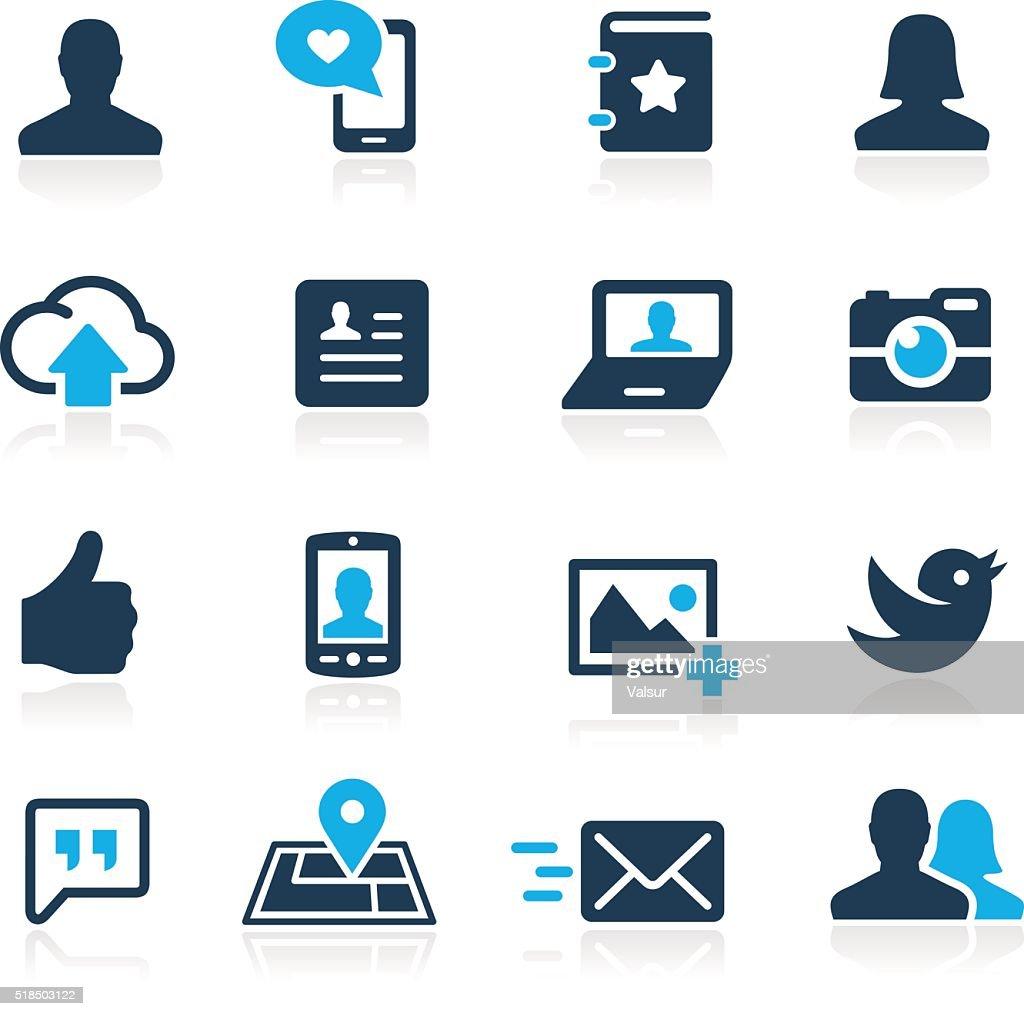Social Icons // Azure Series