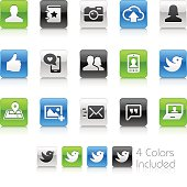 Social Icons - Clean Series