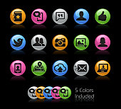 Social Icons // Gelcolor Series