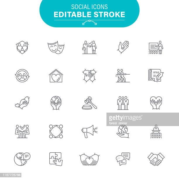 illustrazioni stock, clip art, cartoni animati e icone di tendenza di social icons - sfruttamento degli animali