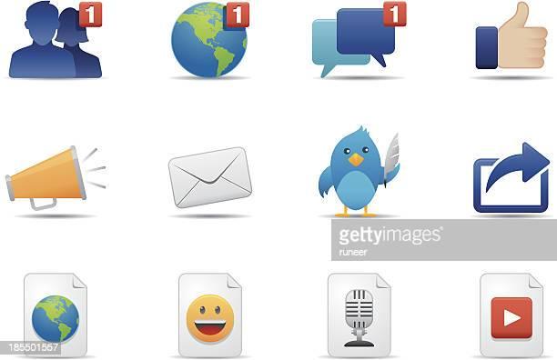 Social Media & Communication icons | Premium Matte series