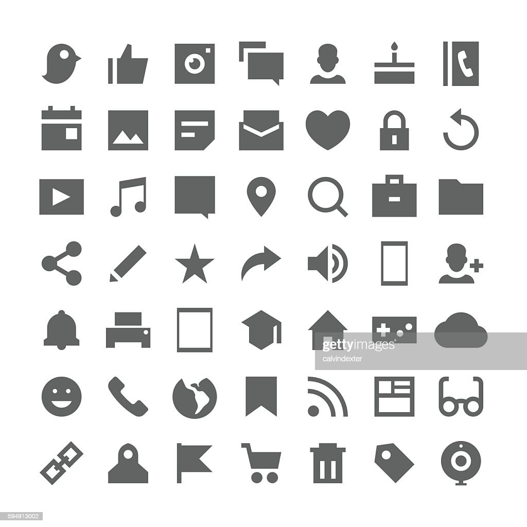 Social Media Essential Icons