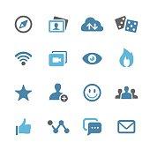 Social Media Icon - Conc Series