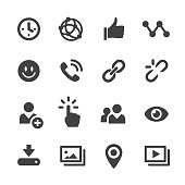 Social Media Icons - Acme Series