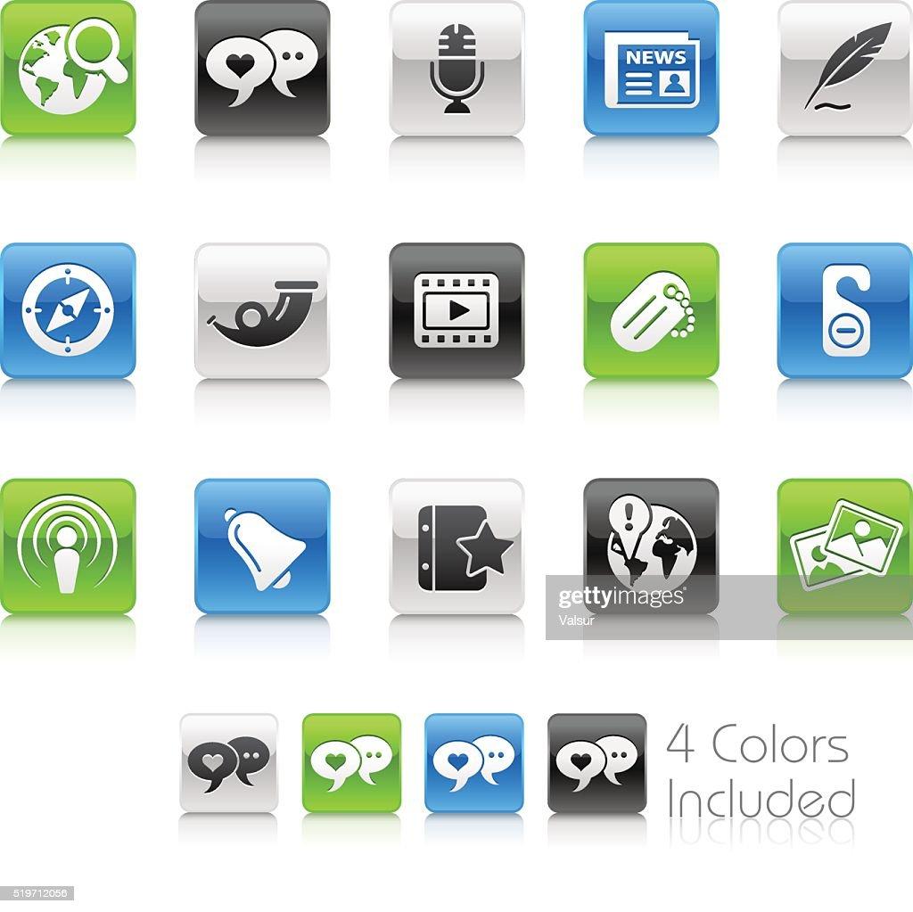Social Media Icons - Clean Series